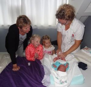 Samen wennen aan de baby